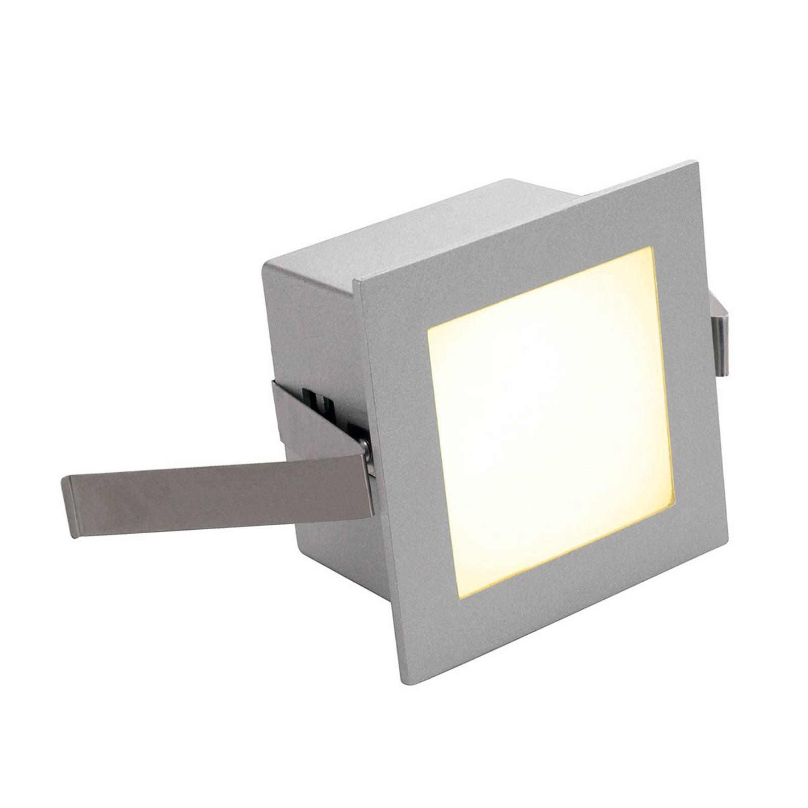 SLV LED-downlight Frame Basic 3 000 K, sølv