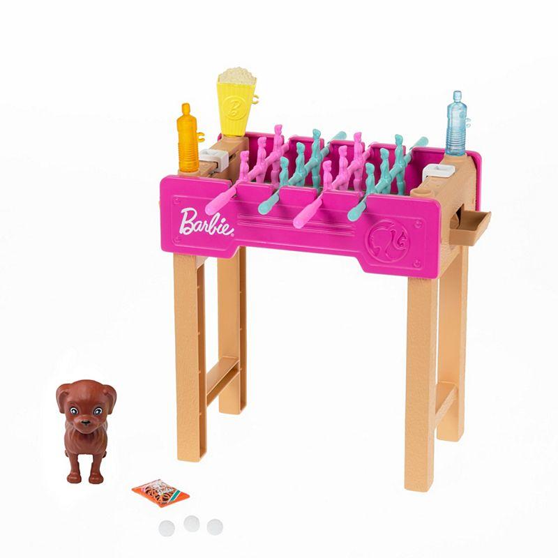 Barbie - Football Table and Pet Mini Playset (GRG77)