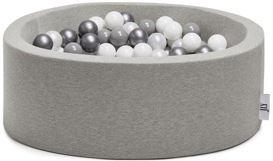 JLY Ballbasseng 30x90, Grey