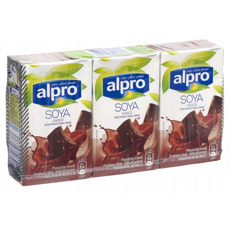 Suklaasoijajuoma 3 x 250ml - 47% alennus