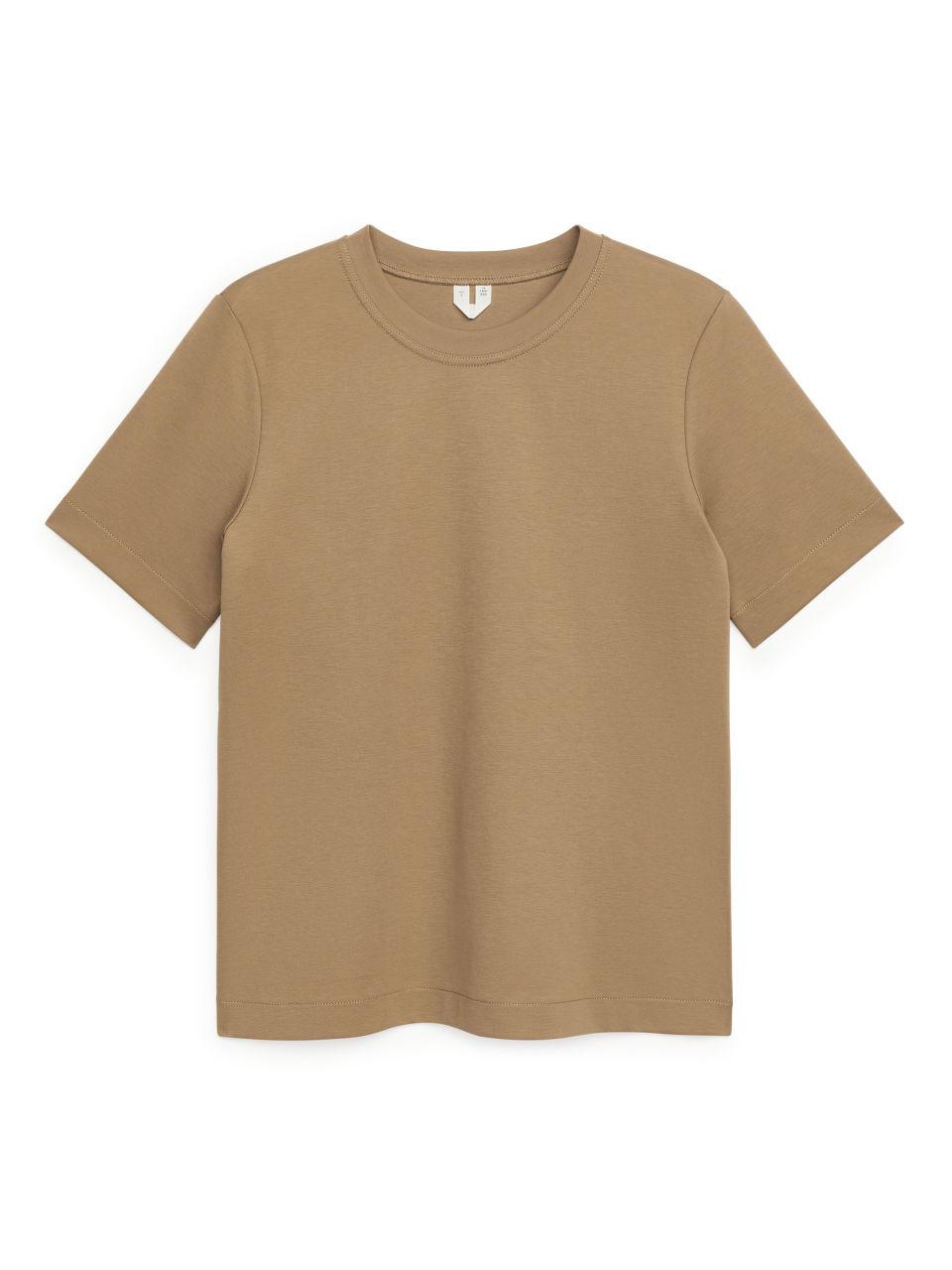 Heavy-Weight T-Shirt - Beige