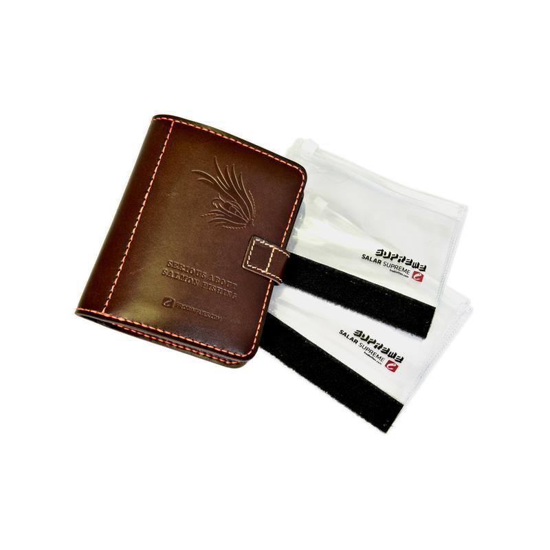 Frödin Flies Leather Fly Wallet Small