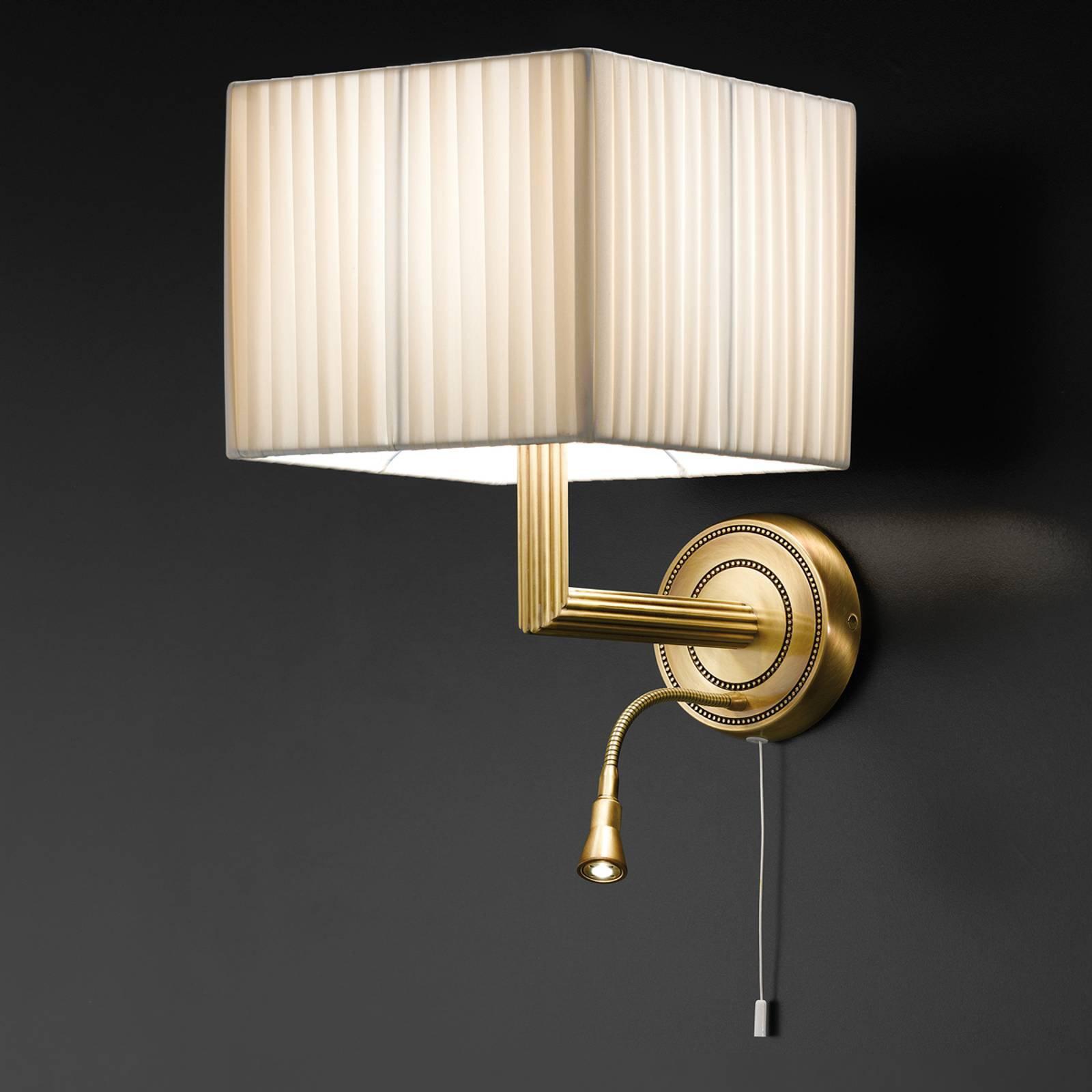 Vegglampe Imperial med LED-leselys