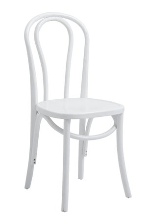 Stol BISTRO 90x40 cm - Hvit