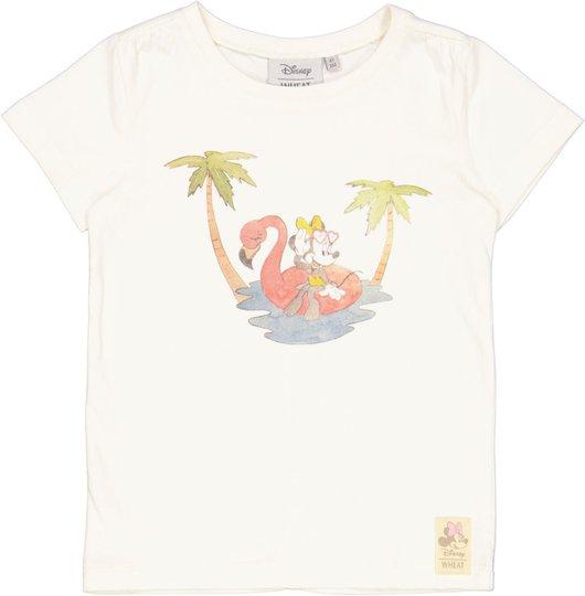 Wheat Beach Minni Mus T-Shirt, Ivory, 104