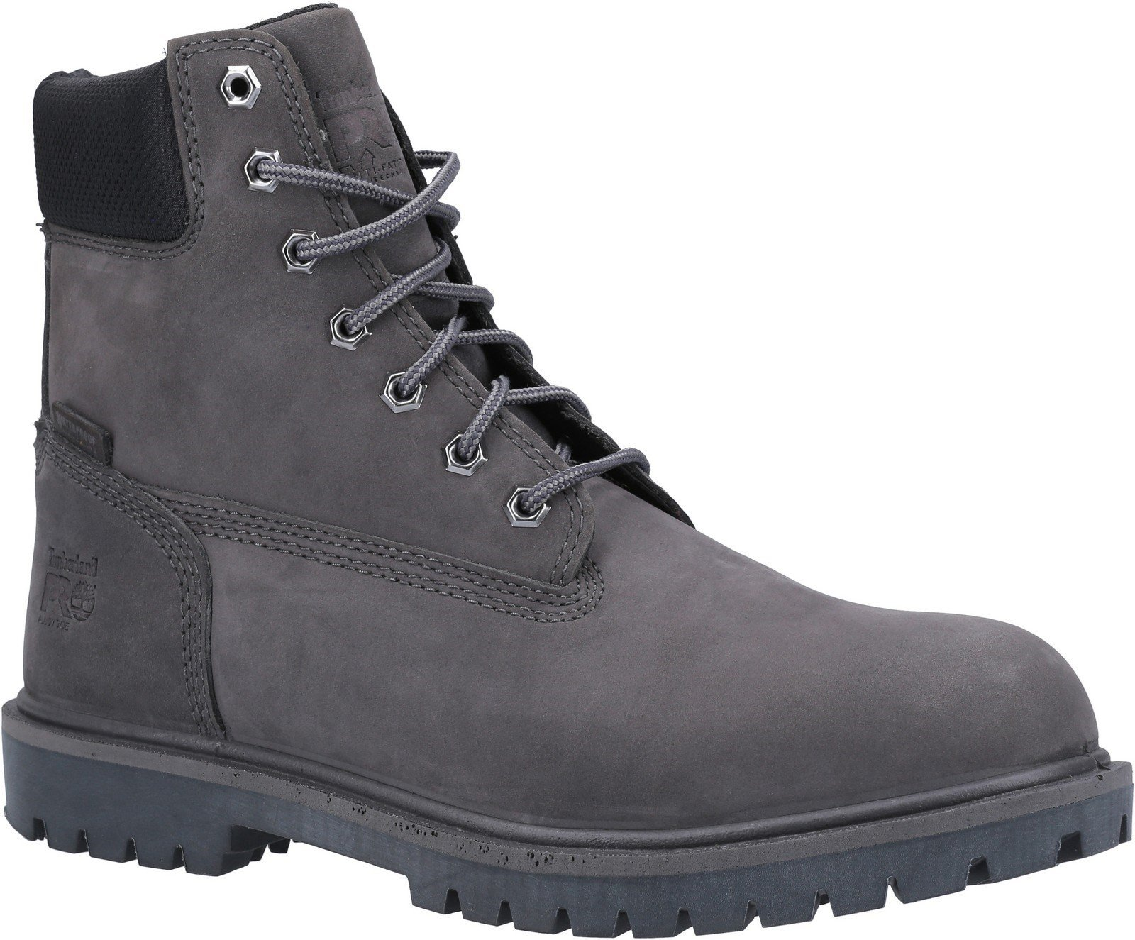Timberland Pro Men's Iconic Safety Toe Work Boot Various Colours 30949 - Grey 10