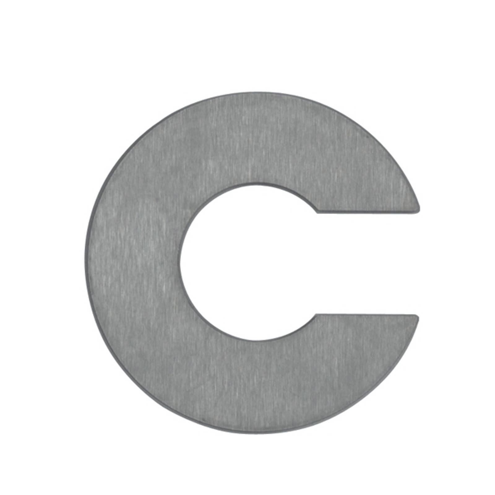 Talonumero – kirjain c