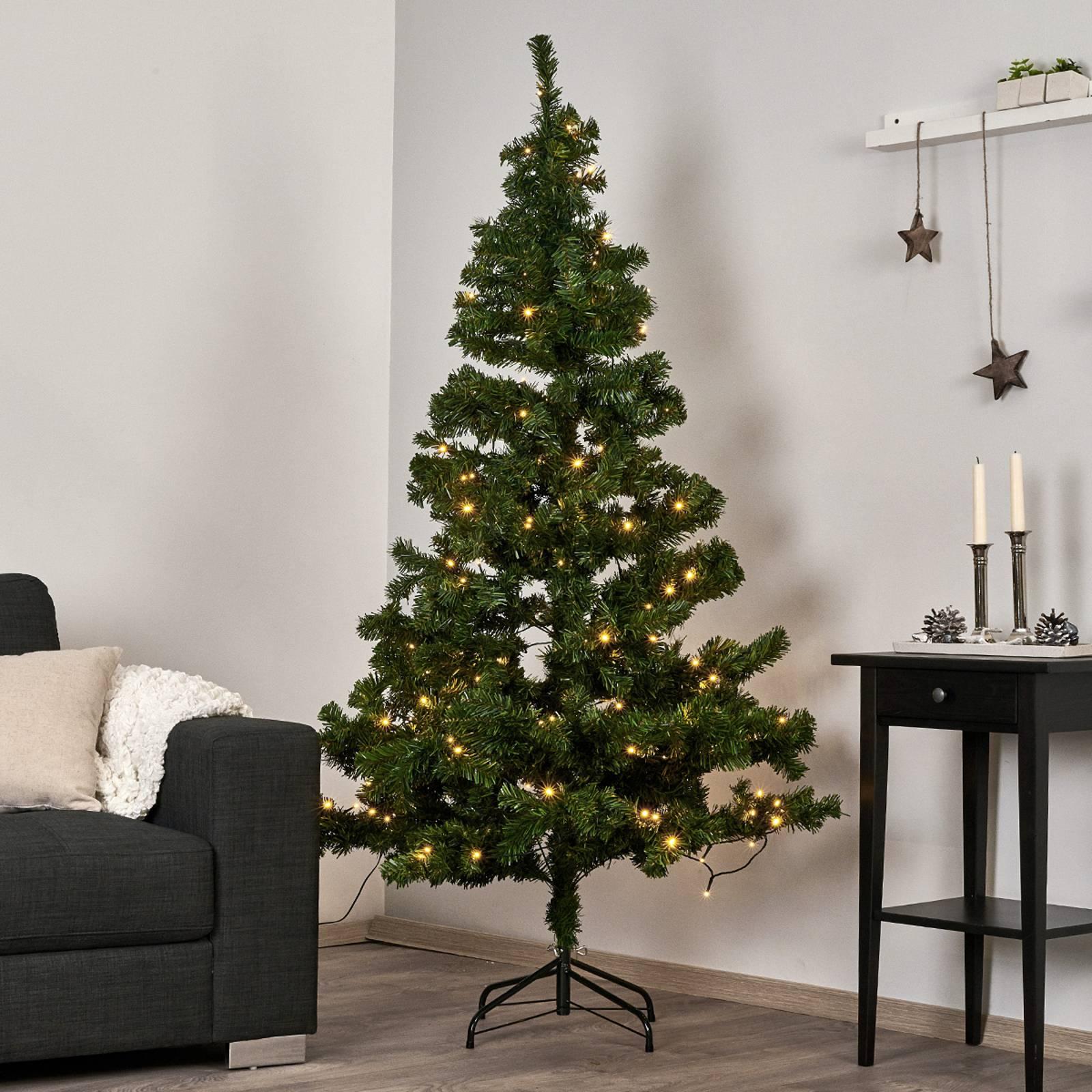 Ottawa-LED-joulukuusi ulkokäyttöön, 1,5 m 110 LED