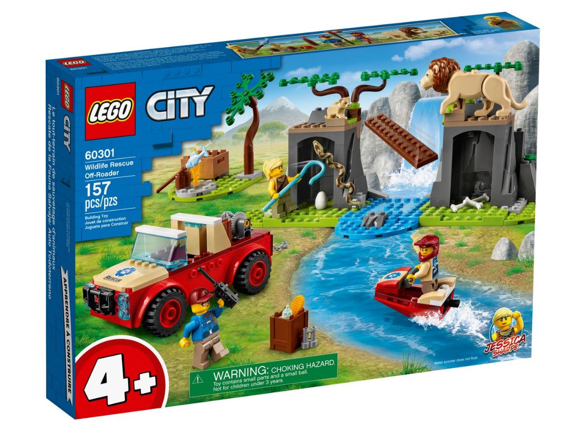 LEGO City - Wildlife rescue offroader (60301)