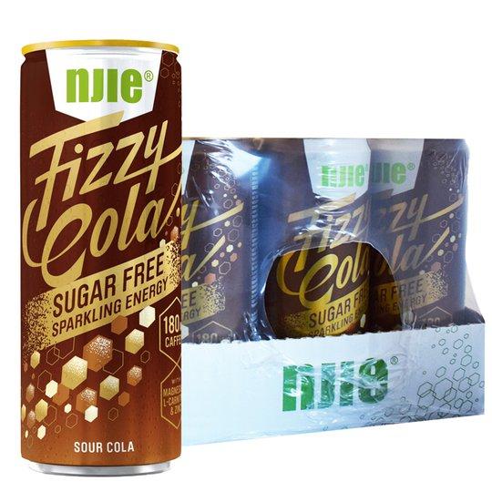 "Hel Låda Energidryck ""Fizzy Cola"" 12 x 330ml - 54% rabatt"