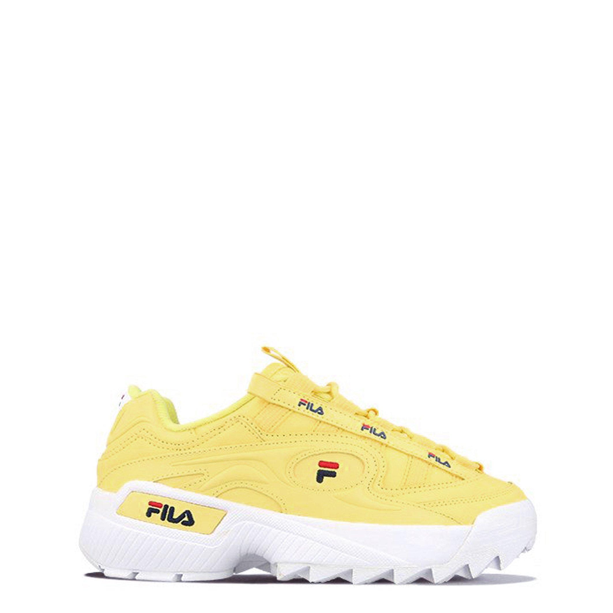 Fila Women's Trainer Various Colours D-FORMATION-W_1010856 - yellow EU 36