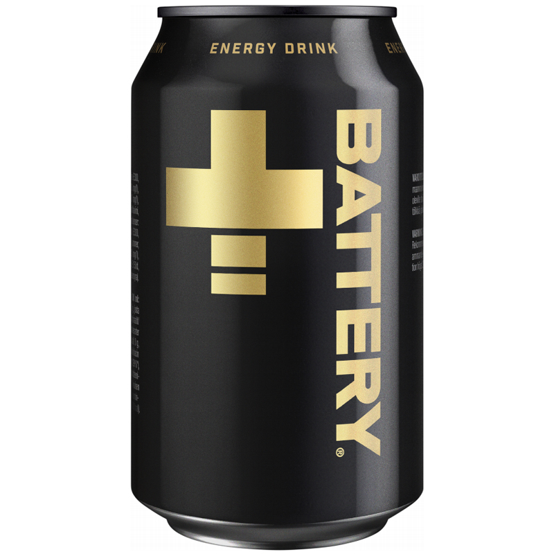 Energidryck Battery - 19% rabatt