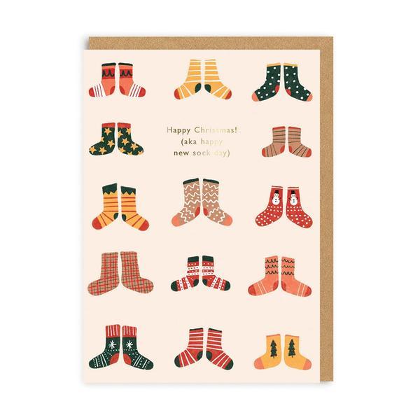 Christmas aka New Sock Day Christmas Card