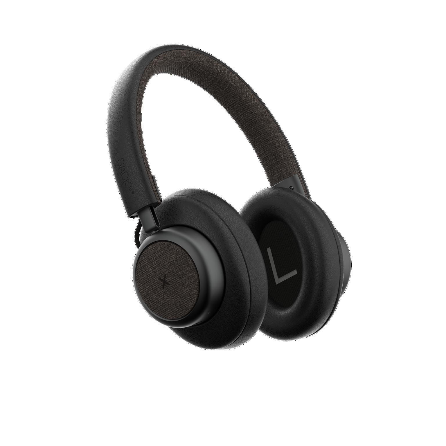SACKit - TOUCHit Over-Ear Headphones - Black