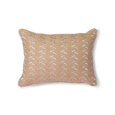 Nude Cushion m Silver patches 30x40 cm