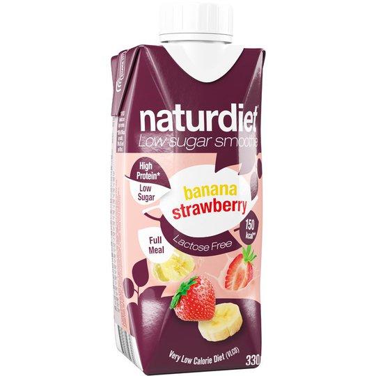 Måltidsersättning Smoothie Banan & jordgubb - 16% rabatt