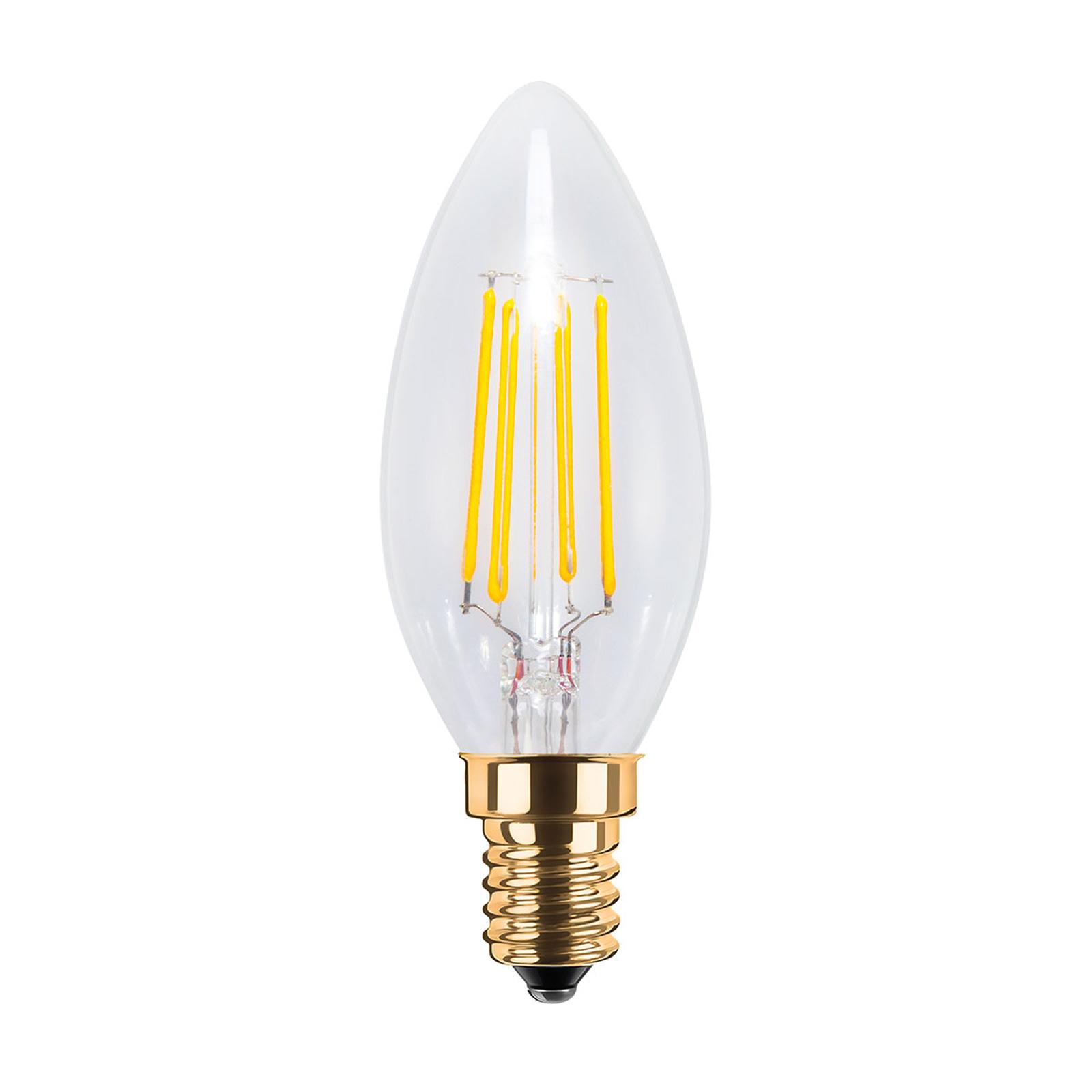 LED-kynttilälamppu E14 4W, 2 200K, 320 lm, kirkas