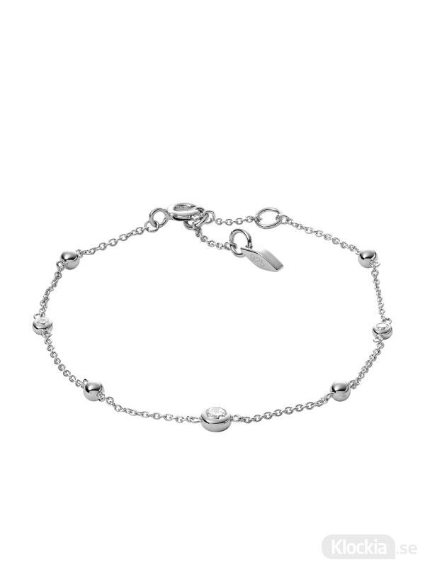 Damsmycke FOSSIL Armband Sterling Silver JFS00452040