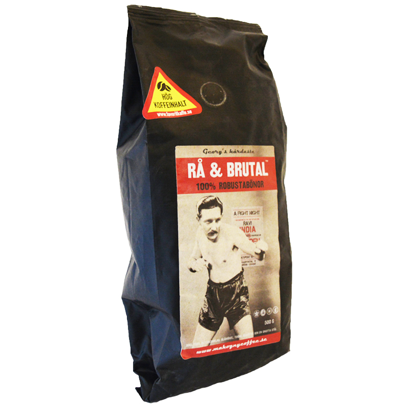 "Kaffebönor ""Rå & Brutal"" 500g - 61% rabatt"