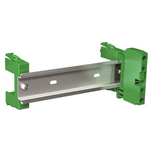 Schneider Electric VDIR380001 DIN-kisko 237 mm + maadoitusliitin