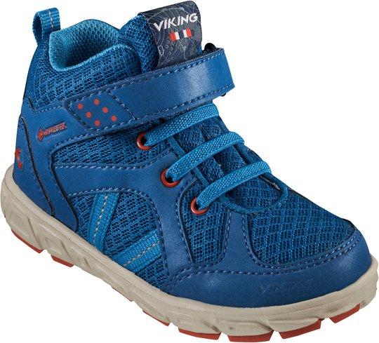 Viking Alvdal Mid R GTX Sneaker, Petrol/Ocean, 23