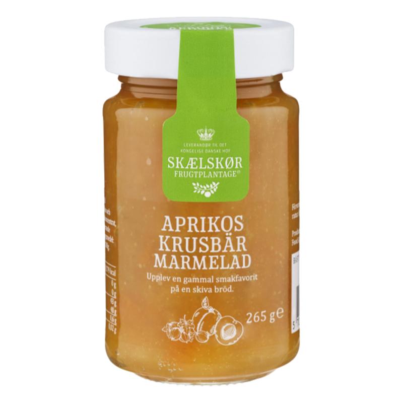 Marmelad Aprikos & Krusbär 265g - 21% rabatt