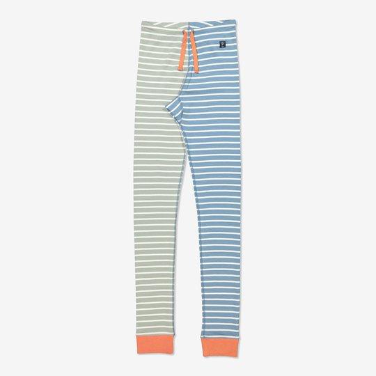 Stripet bukse voksen orange