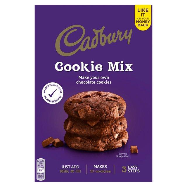 Cadbury Double Chocolate Cookie Mix 265g