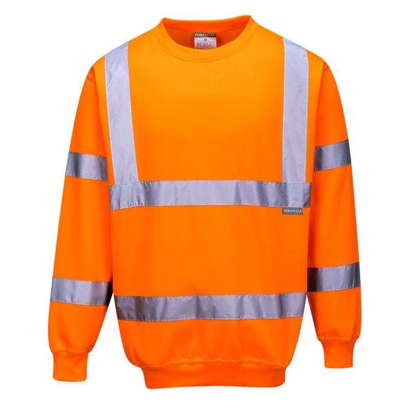 Portwest B303 Sweatshirt Hi-Vis orange XS