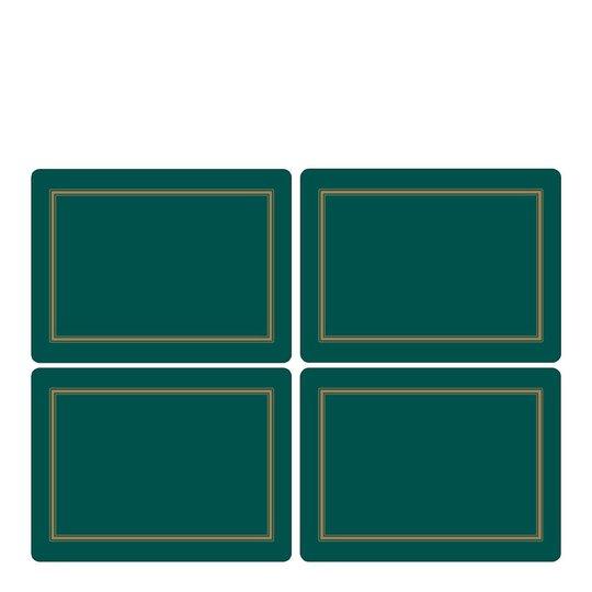 Pimpernel - Classic Tablett 40x30 cm 4-pack Emerald