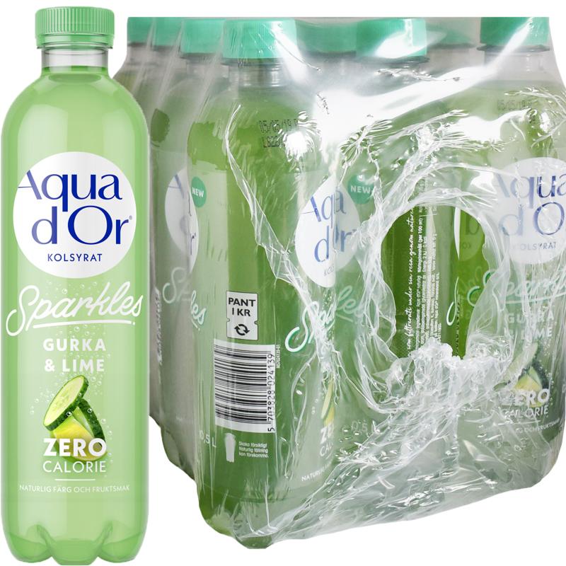Kolsyrat Vatten Gurka & Lime 12 x 50cl - 64% rabatt