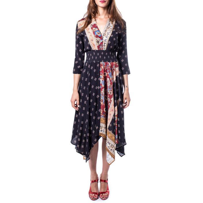 Desigual Women's Dress Brown 167773 - brown 42
