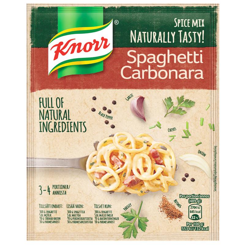 Kryddmix Carbonarasås - 20% rabatt