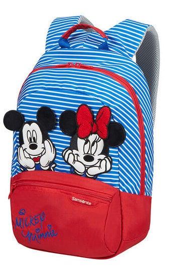 Samsonite Disney Ryggsäck 11L, Minnie/Mickey Stripes