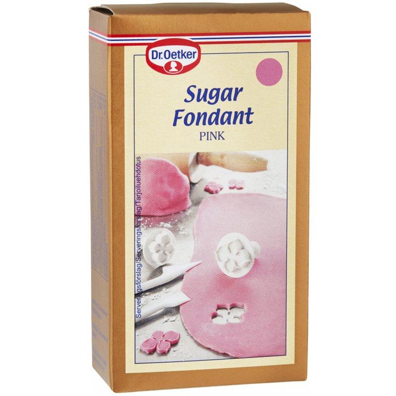 Vaaleanpunainen Sokerimassa 250g - 53% alennus