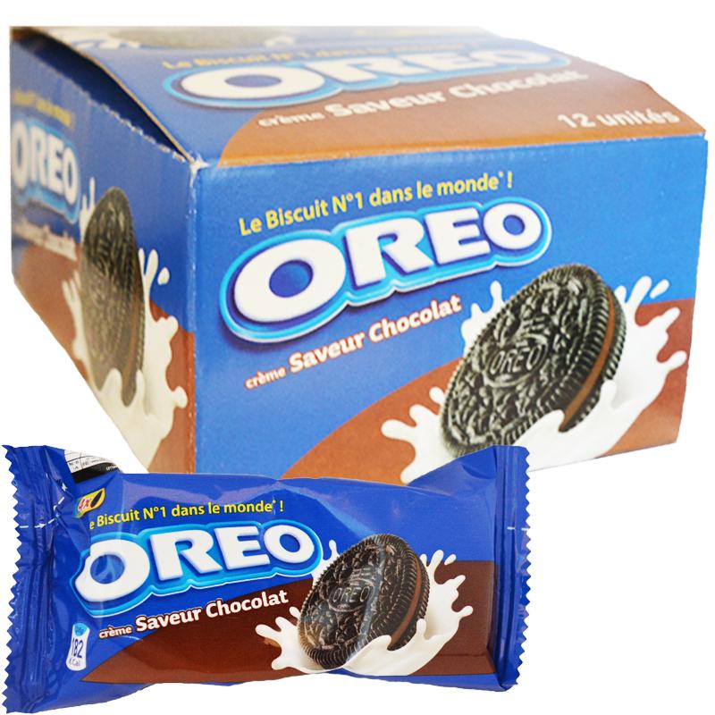 "Hel Låda Kakor ""Chocolat"" 12 x 38g - 50% rabatt"