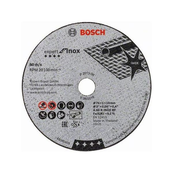 Bosch Expert for Inox Kappskive 5-pakning