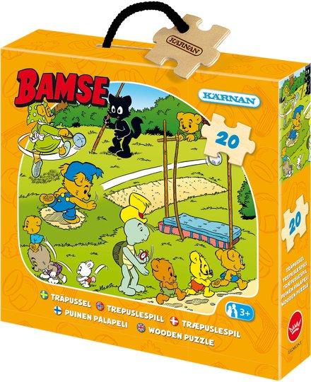 Bamse - Verdens Sterkeste Bjørn Puslespill, 20 Deler