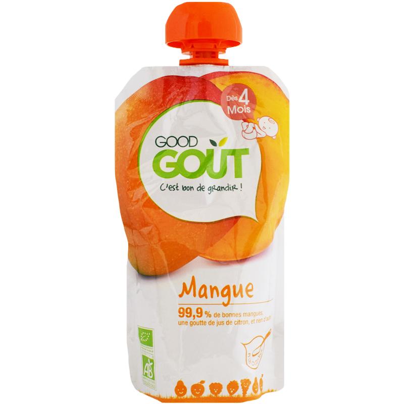Eko Fruktpuré Mango 4m - 33% rabatt