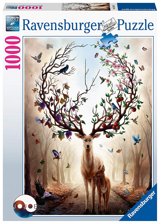 Ravensburger - Puzzle 1000 - Fantasy Deer (10215018)