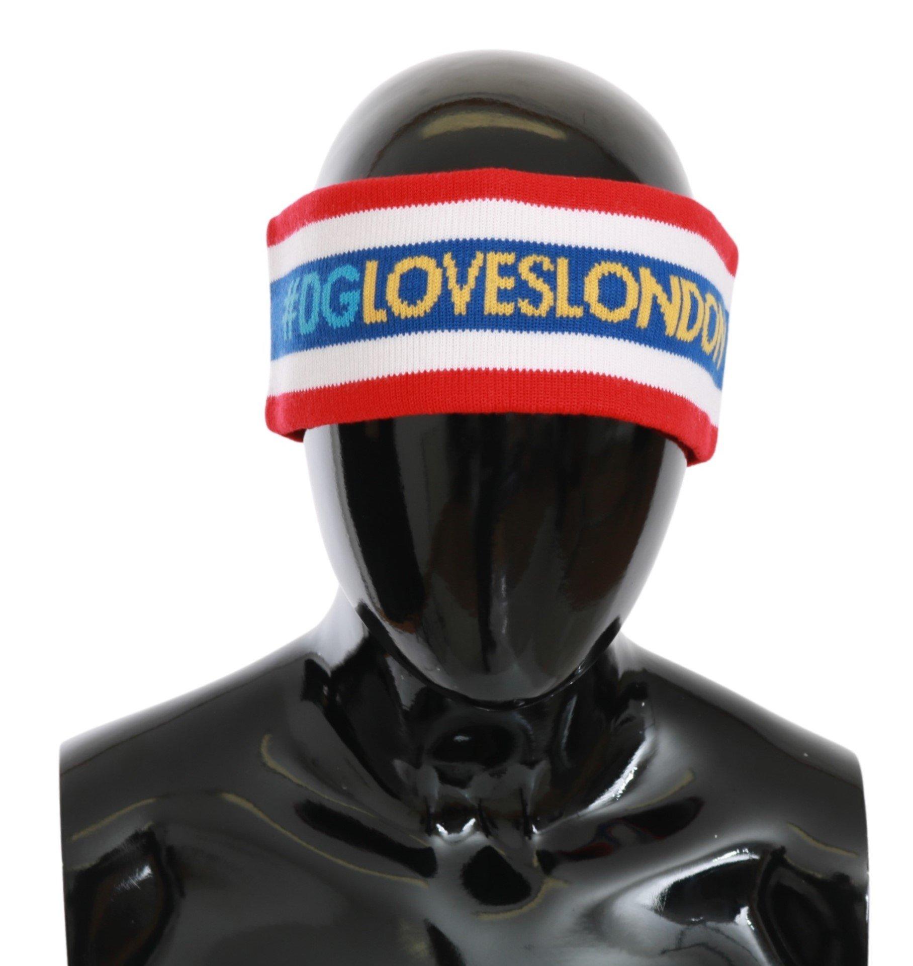 Dolce & Gabbana Men's #DGLOVESLONDON Head Hat Multicolor HAT9003