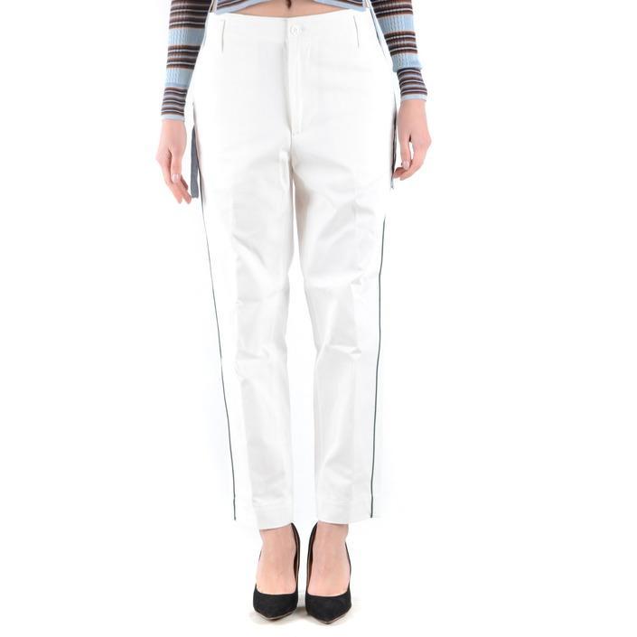 Golden Goose Women's Trouser White 164854 - white M
