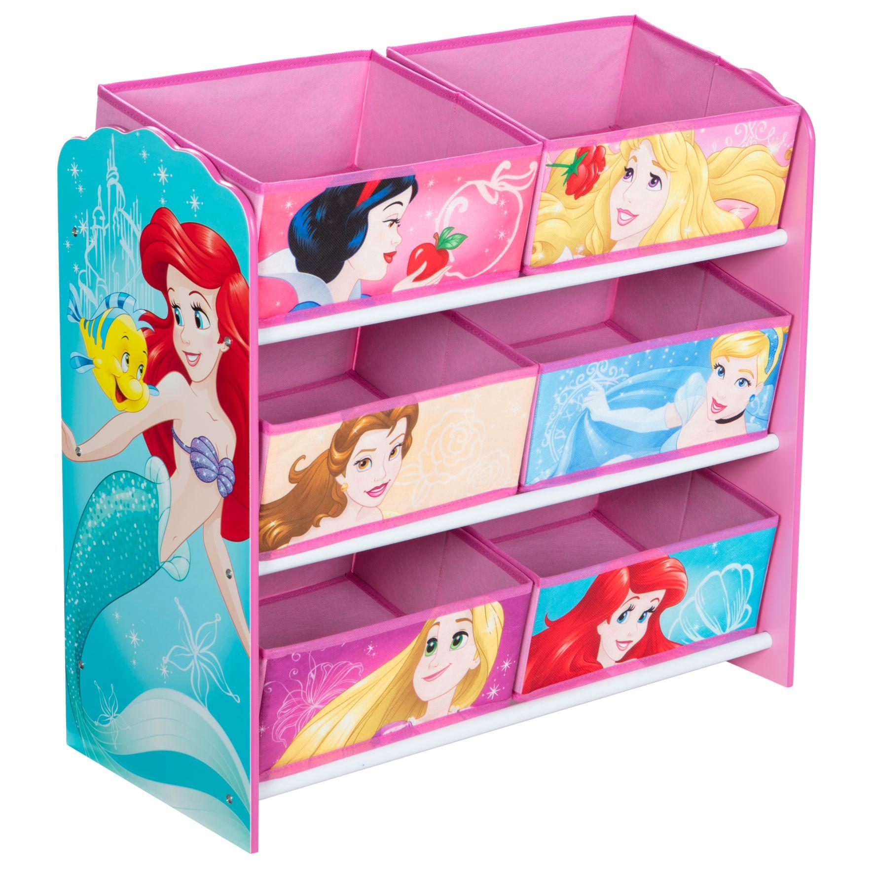 Disney Princess - Kids Toy Storage Unit (471DIY01E)