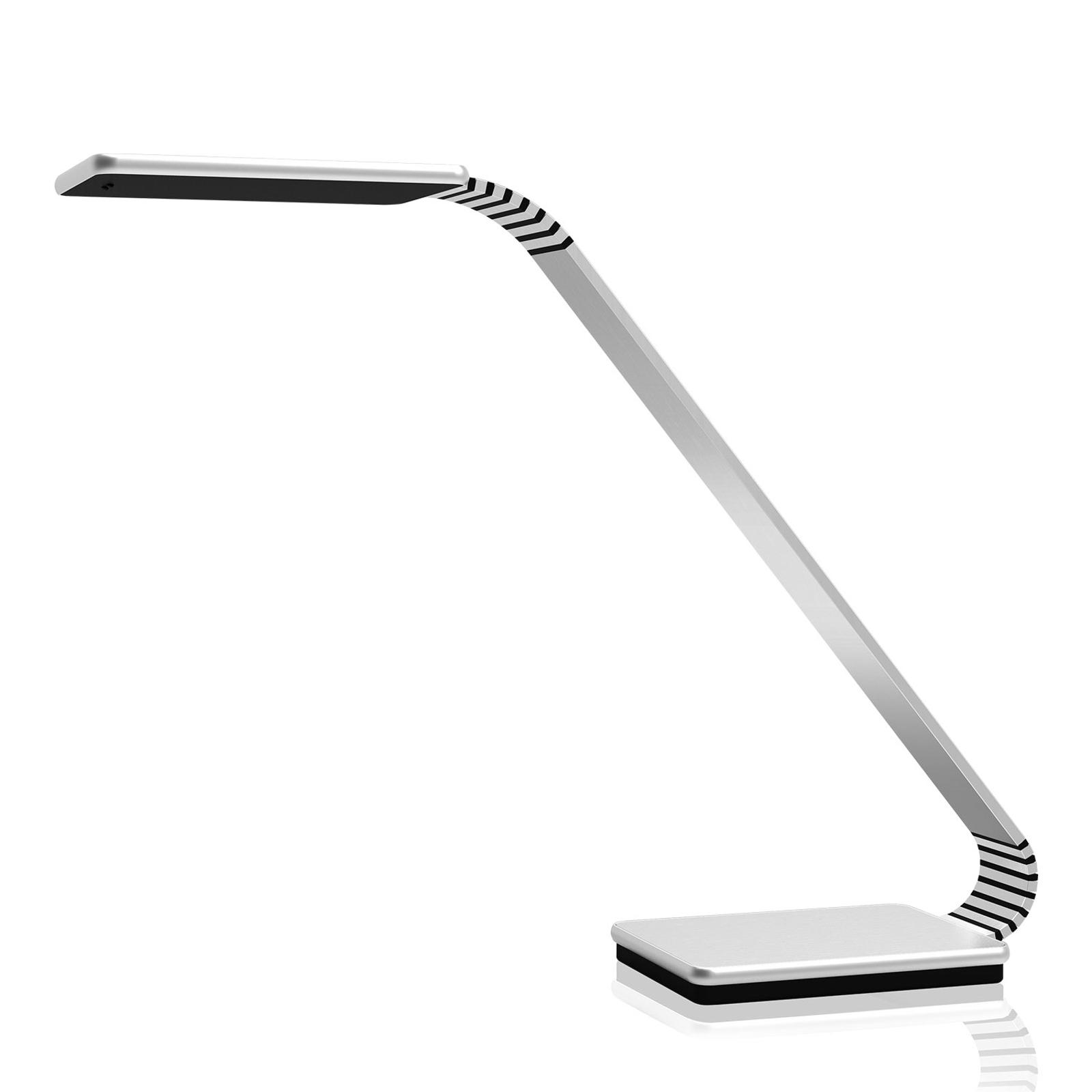 TRAE Maze 2 LED-työpöytälamppu, 4 000 K alumiini