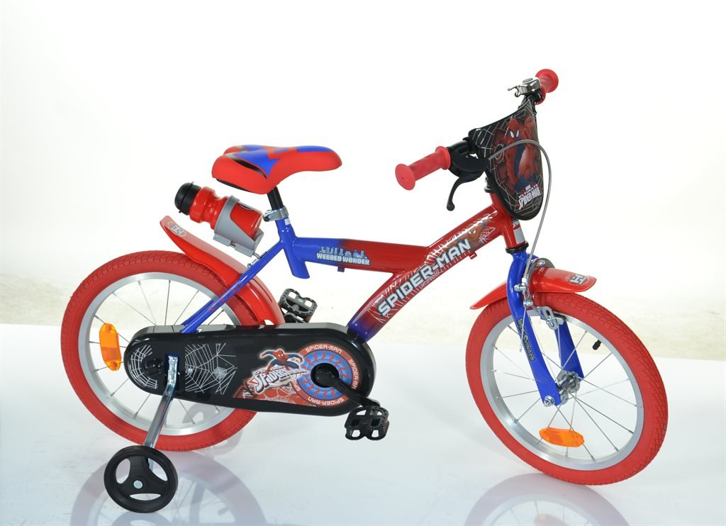 Dino Bikes - Children Bike 16'' - Spiderman (163GSK-SA)