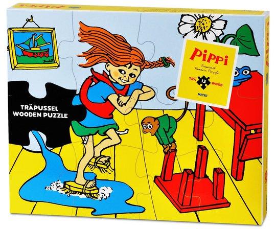 Pippi Trepuslespill 12 Brikker
