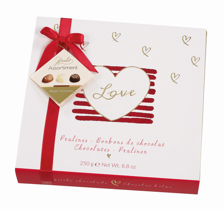 Darling - Vit Chokladask med belgiska praliner