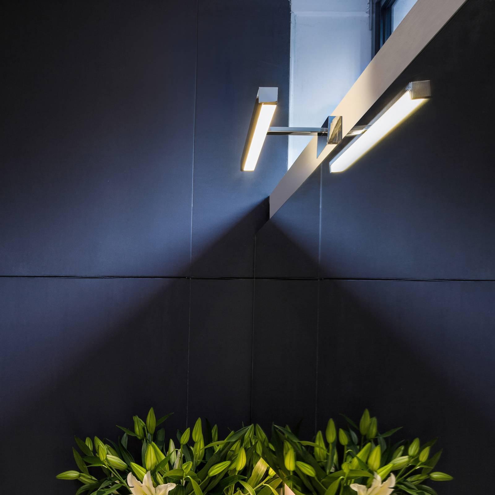 Astro Kashima 350 LED-speillampe, krom, 35 cm