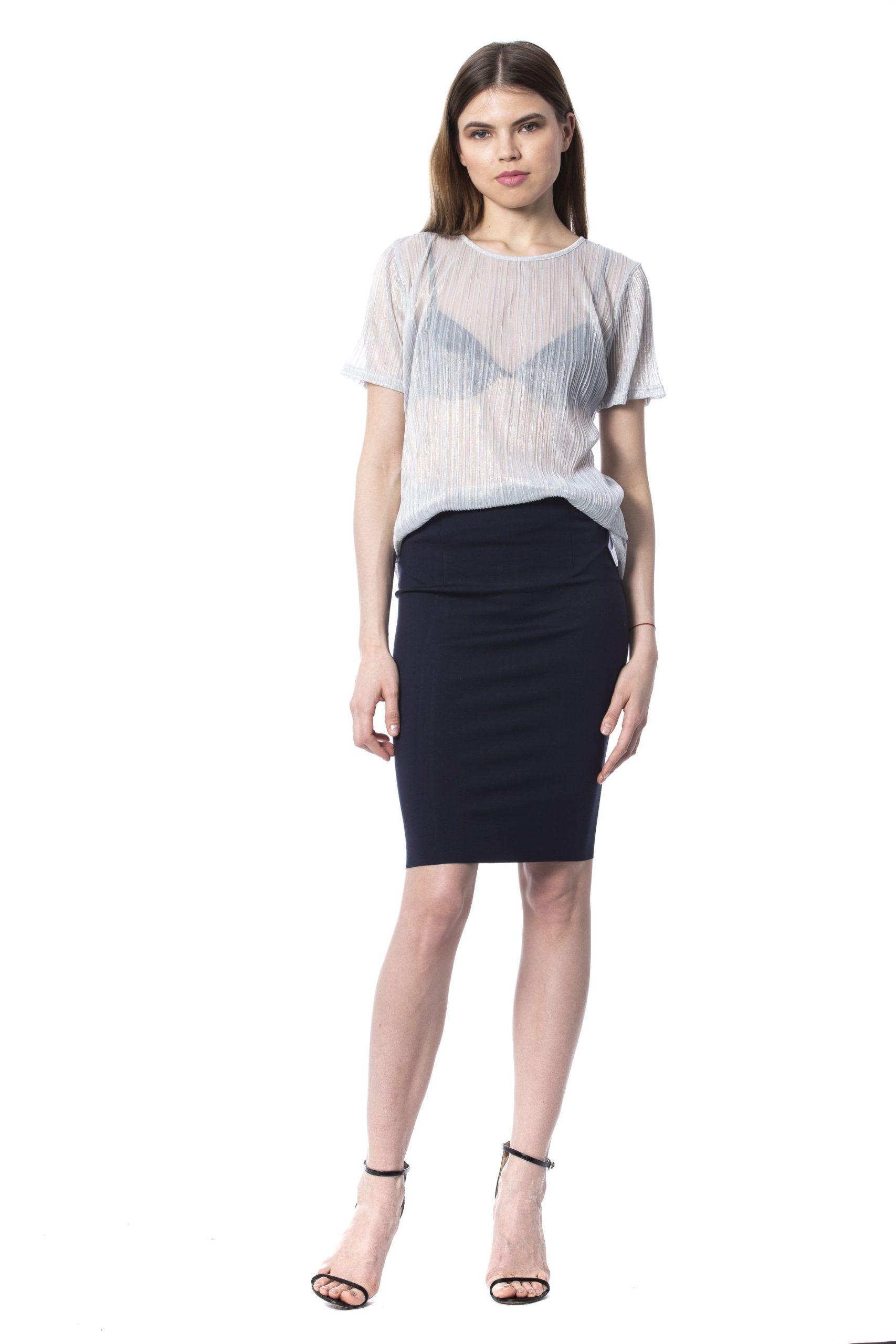 Silvian Heach Women's T-Shirt Silver SI1235500 - XS