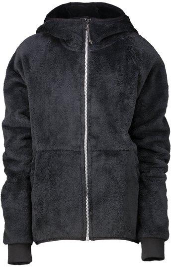 Wearcolour Flow Fleece Hettegenser, Black 120